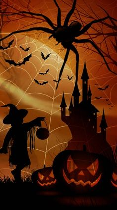 Search free halloween Wallpapers on Zedge and personalize your phone to suit you. Spooky Halloween Pictures, Diy Halloween Costumes For Kids, Halloween Rocks, Halloween Clipart, Halloween Patterns, Halloween Quotes, Halloween Prints, Diy Halloween Decorations, Halloween Cat