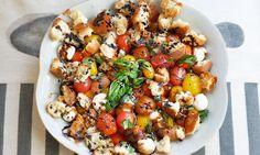 July/Aug: Bread Salad