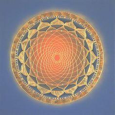Spiral of Life Mandala by Nadean O'Brien