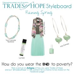 || Every purchase empowers a woman out of poverty. || Shop at http://mytradesofhope.com/leahhartley || #tradesofhope #endpoverty #empoweringwomen #sustainablebusinesses #fairtradefashion