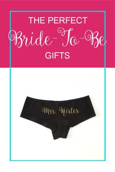 Bride-To-Be gifts for your next bridal shower!