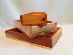 Small Reclaimed Wood Trays by justinhedgesdesigns on Etsy, $14.00