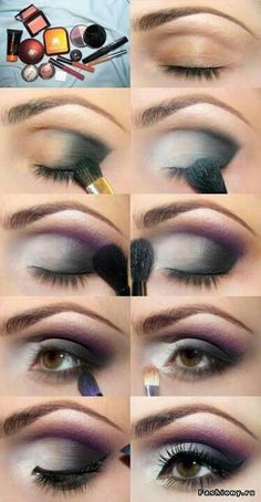 purple smoky
