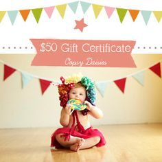"""Pin this original Pin to be entered to win a 50$ Gift Certificate from Oopsy Daisies. Winner will be chosen by random from the list of pinners below when we hit 300 pins. Will run till we reach our goal :) Winner must be a fan of: """"http://www.facebook.com/oopsydaisiestulsa"""""""