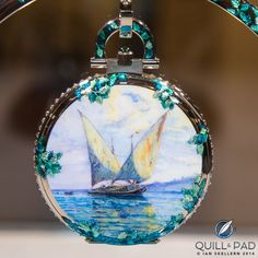 Dawn On The Lake: Celebrating Patek Philippe's Grandiose Anniversary With Art And Collaboration Patek Philippe Pocket Watch, Days In July, Art Watch, Fine Watches, Crystal Palace, Art Forms, Fireworks, Dawn, Diamond Cuts