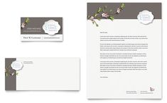 Wedding Planner Business Card Template | Wedding Planner Business Card & Letterhead - Word Template & Publisher ...