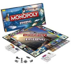 Monopoly Board, Monopoly Game, Bait A Hook, Easy Sheet Music, Computer Gaming Room, International Games, Weird But True, Bait And Tackle, Tackle Box