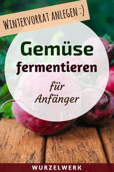 Gemüse fermentieren für Anfänger: Fermentieren ist super leicht und macht wahnsinnig viel Spaß. Hier ist eine Anleitung für alle, die es lernen und mit eigenen Rezepten experimentieren wollen. Einfach auf den Pin klicken und los geht's! :) #Wurzelwerk #Fermentieren #Selbstversorger #Selbstversorgung