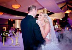Adam & Erin's dancing on a cloud bridal waltz @HillstoneStL | G&M DJs | Magnifique Weddings #gmdjs #magnifiqueweddings #dancingonacloud @gmdjs