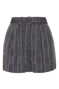 D-Ring Stripe Tie Shorts - Shorts - Clothing - Topshop