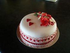 Cake for Valentine's day