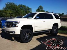 07 Chevy Tahoe LTZ 4X4, Zone lift, KMC wheels, Toyo tires. #LiftedTrucks #Yukon #OffRoad # ...
