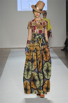 African-Inspired: Stella Jean S/S 2013 Collection During Milan Fashion Week