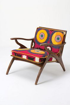 lovely fall colors! Inge Chair, Vintage Suzani