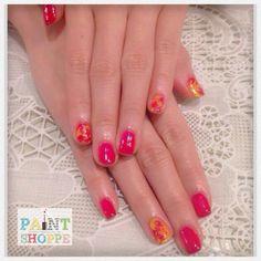 Marbleized nailart  #paintshoppenails #singapore #eastcoastroad #katong #manicure #pedicure #nails #nailart