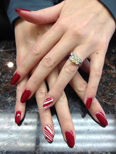 Christmas Nails #IsJocelynnUrManicurist?