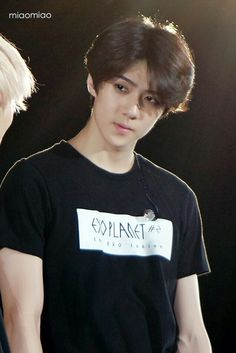 imagine your boyfriend sehun looking down and staring at u like this