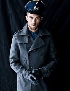 By Burberry Prorsum #coat #military