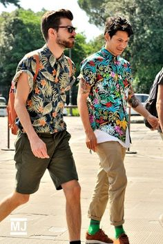 Camisa Tropical, Camisa Floral, Estampa Tropical Masculina. Macho Moda - Blog de Moda Masculina: Tendências Masculinas para a PRIMAVERA 2017 - Roupa de Homem, Moda Masculina, Moda Masculina 2017, Moda Masculina 2018,