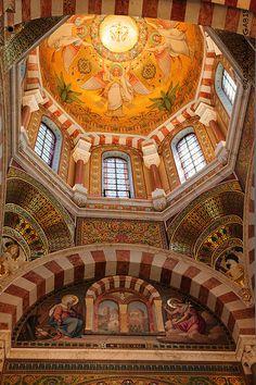 Notre-Dame de la Garde, Marseille, South of France