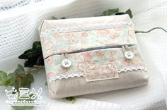 Cute Pouch for Tissue Paper - Tutorial