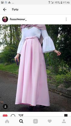 Likes, 35 Comments - Fat Hijab Style Dress, Hijab Chic, Hijab Outfit, Abaya Fashion, Modest Fashion, Fashion Dresses, Muslim Women Fashion, Islamic Fashion, Modest Wear
