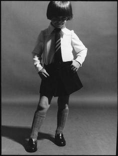 vintage school uniform
