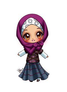 Cute Hijabi Muslimah