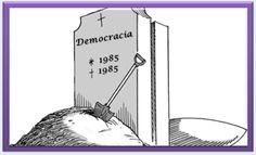 A NATIMORTA DEMOCRACIA BRASILEIRA http://almirquites.blogspot.com/2017/11/a-natimorta-democracia-brasileira.html A tão sonhada nasceu morta em 1985. Temos vivido de ilusão, nada além!
