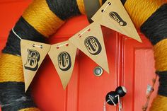 Juneberry Lane: Halloween Banners & Buntings and a FREE Owl Printable!