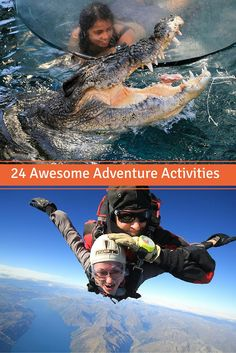 24 of the Coolest adventure activities around the globe to add to your thrill seeker list NOW!