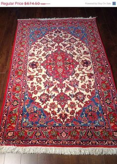 Item 2326, Absolutely Stunning Isfahan Rug, 3'7 x 5'3