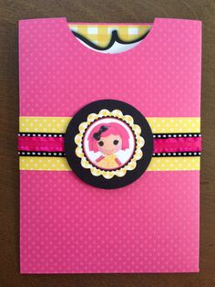 Lalaloopsy Birthday Party Invitations | You now have your cute invitation pocket. Just slip in your invitation ...