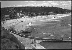 Colloroy in the Northern Beaches region of Sydney in Avalon Beach, Australia Beach, North Shore, Old Photos, Beaches, Sydney, Sailing, Waves, History