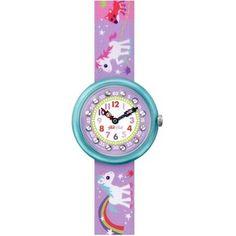 Gezien op beslist.be: Flik Flak Sunny Hours Magical Unicorns horloge FBNP033
