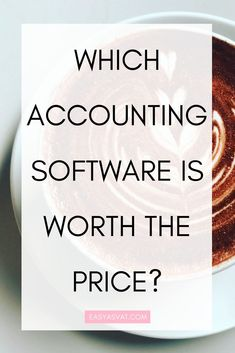 I get asked about accounting software a lot. Is it worth investing in, and which one is the best? So I thought I'd share my thoughts on some of the most popular accounting software systems. Small Business Bookkeeping, Business Software, Business Education, Financial Accounting, Accounting Software, Business Management, Money Management, Project Management, Financial Regulation