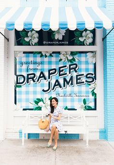 Draper James storefront. How cute is this?!