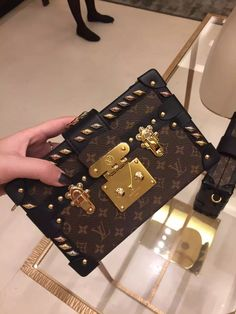 Louis Vuitton Studded Petite Malle Bag M41552