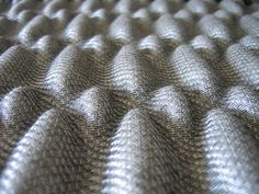 Woven 3D Textiles inspired by structure & repetition seen in architecture; innovative fabric manipulation // Aleksandra Gaca