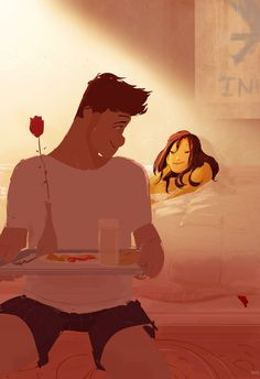 Bacon, eggs and a little something more... by PascalCampion on deviantART