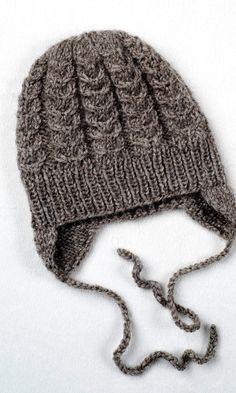 Vauvan myssyssä on nyöri, jolla sen voi sitoa kiinni leuan alta. Diy Crochet And Knitting, Baby Knitting Patterns, Crochet Baby, Knitted Baby Clothes, Knitted Hats, Baby Hats, Beanie Hats, Sewing Projects, Winter Hats