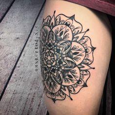 Mandala Symbols, Mandala Tattoo, Tattoo Designs, My Style, Accessories, Instagram, Tatoo, Ink, Tattooed Guys