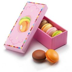 San Francisco kids can't help being little foodies in training.  These play macaron cookies will help put them on the right path.  Macarons, $13.49, oompa.com Use coupon code GGMG till Sept 1rst for 10% off.