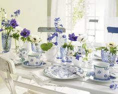 Hues of Blue with Villeroy & Boch