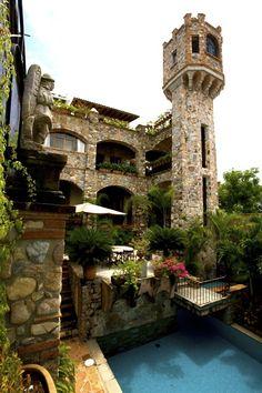 Puerto Vallarta Villa Rental: Casa De La Torre, Luxury Villa/castle With Bay Views In Old Town   HomeAway