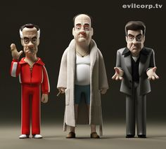 by kibookied Tony Soprano, Vinyl Toys, Vinyl Art, Mafia, Character Concept, Character Design, Character Reference, Les Sopranos, Funny Dog Faces