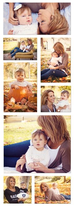 A mother + daughter photoshoot. They are even wearing Raiders stuff! i HAVE to do this!