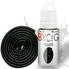 E-Liquide Réglisse 11ml BYCIG Flacon de E-liquide parfum Réglisse. Trés gourmand, retrouvez les sensations de vos gouts préférés!