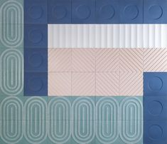 design by Aimee Munro Mosaic Wallpaper, Mosaic Tiles, Mosaics, Concrete, Screens, Projects, Patterns, Rugs, Colors