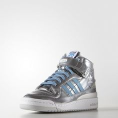 adidas Forum Mid RS Nigo Shoes - Silver  aa7858b39265a